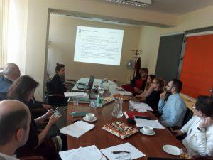 Zdjęcie ze spotkania ws. wstępnych założeń wsparcia instrumentu poręczeniowego