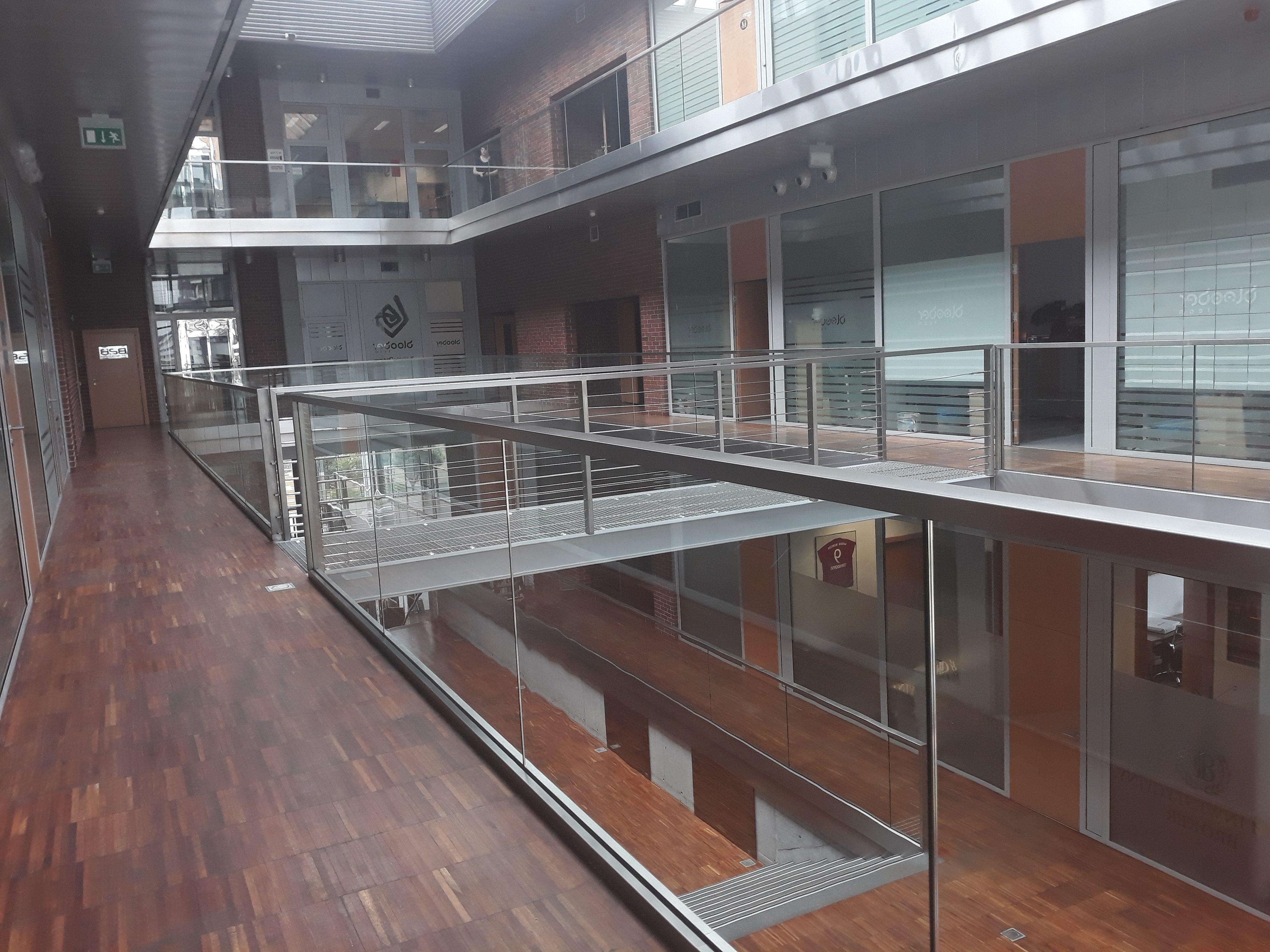 Wnętrze budynku siedziby MFR Sp. z o.o.
