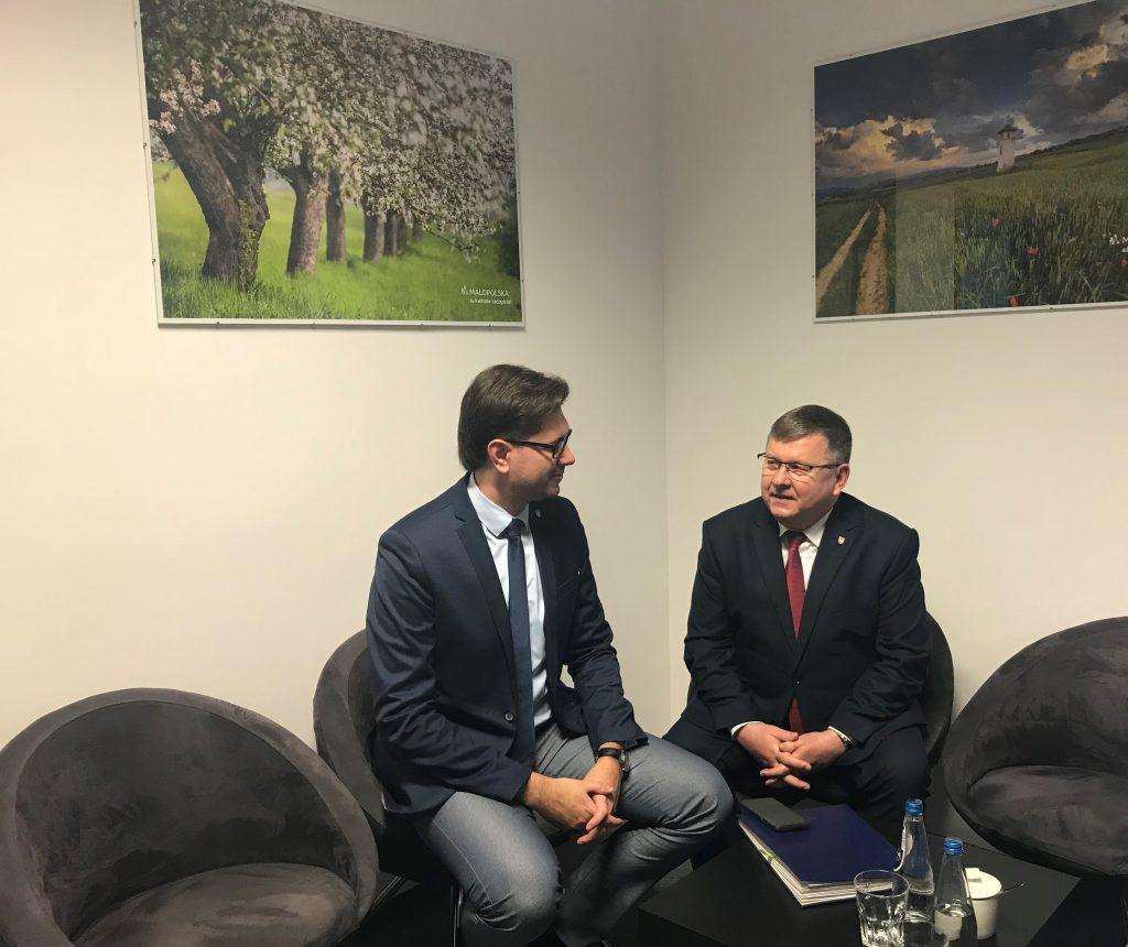 Prezes Zarządu MFR oraz Marszałek Województwa Małopolskiego