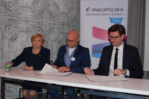 Podpisanie listów intencyjnych owzajemnej współpracy pomiędzy MFR, aPośrednikami Finansowymi
