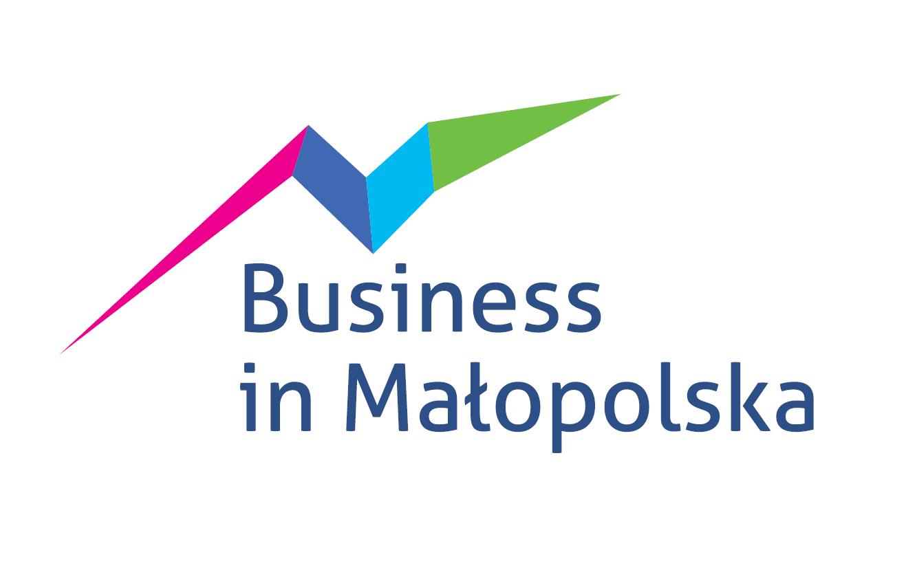 Logotyp magazynu Business in Małopolska